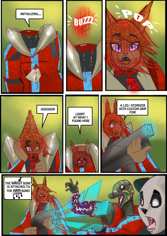 Red Space Blues 27
